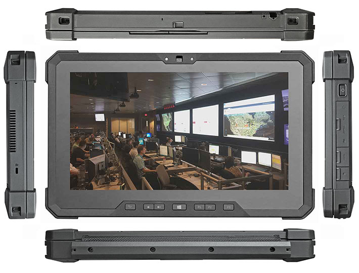 Rugged PC Review com - Rugged Notebooks: Dell 12 Rugged Extreme Tablet